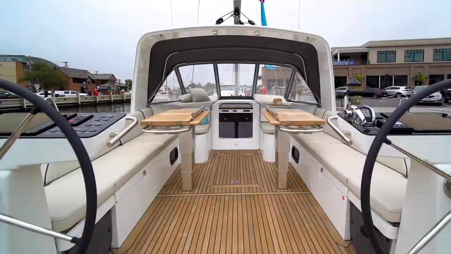 BENETEAU Oceanis Yacht 54 - Full Review Detailed Walkthrough
